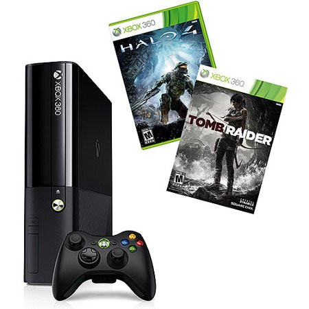 Xbox 360 250GB Value Bundle with Halo 4 and Tomb Raider