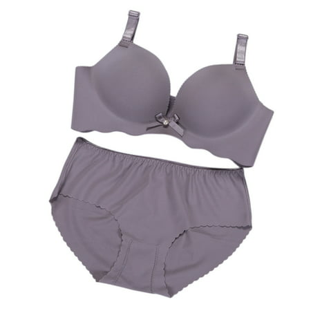 29ee0b778e EFINNY - EFINNY Women Sexy Adjustable Push Up Bra Sets Seamless Underwear -  Walmart.com