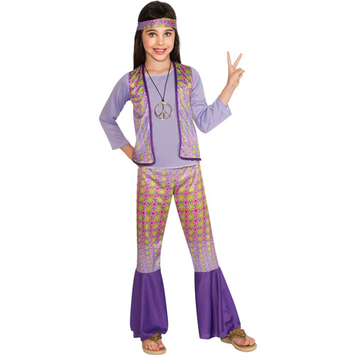 70`S GIRLS HALLOWEEN COSTUME  sc 1 st  Walmart & 70`S GIRLS HALLOWEEN COSTUME - Walmart.com