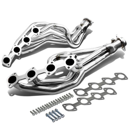 For 1996 to 2004 Ford Mustang High-Performance 8-2-1 Design 2-PC Stainless Steel Exhaust Header Kit GT 97 98 99 00 01 02