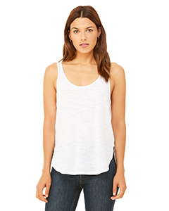 Bella + Canvas Ladies' Flowy Side Slit Tank