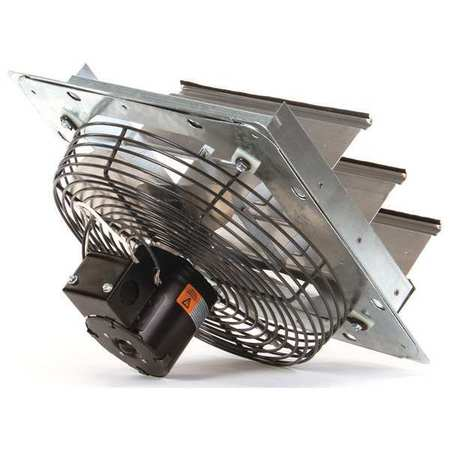 Exhaust Fan,10 In,115V,1/25hp,1550rpm DAYTON 1HLA1