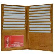 Genuine cowhide leather multi Credit Card/ID holder 1529 CF