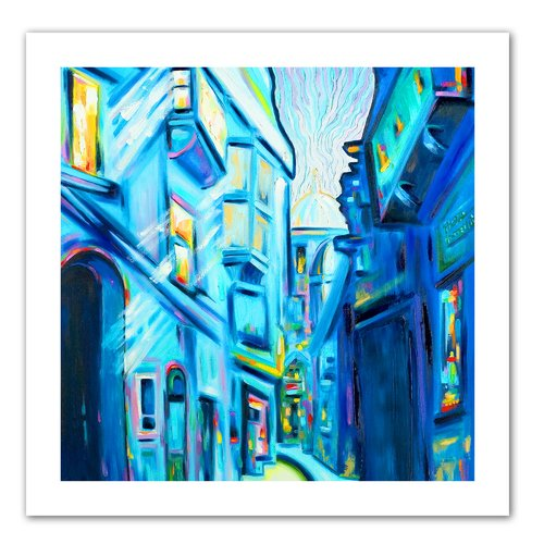 ArtWall 'Magical Alleys of Venice' by Susi Franco Painting Print on Canvas