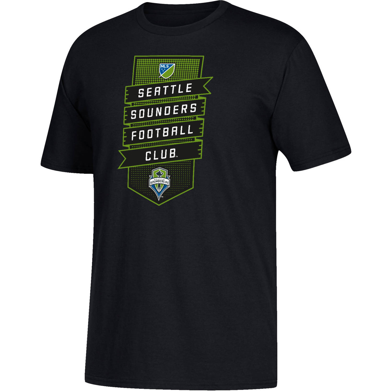MLS-Seattle Sounders-Men's Club Banner Performance Tee