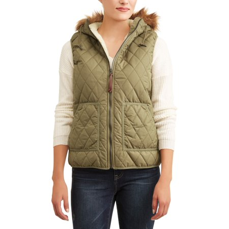 Pulse Women's Bleeker Insulated Quilted Vest - Gangster Vest