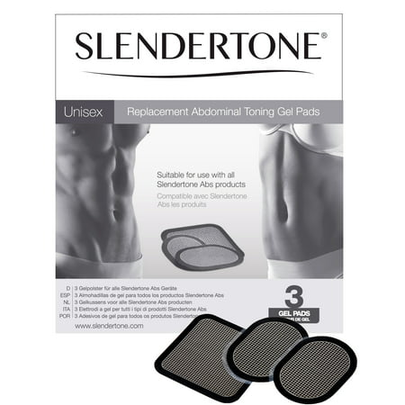 Slendertone Abs Replacement Gel Pads (1 Set)