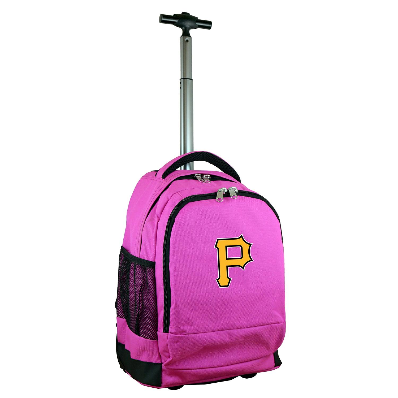 Pittsburgh Pirates 19'' Premium Wheeled Backpack - Black - No Size