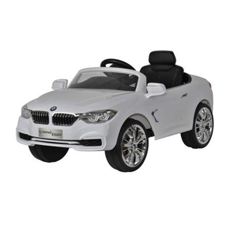 Licensed Bmw 4 Series 12V Kids Battery Powered Ride On Car   White