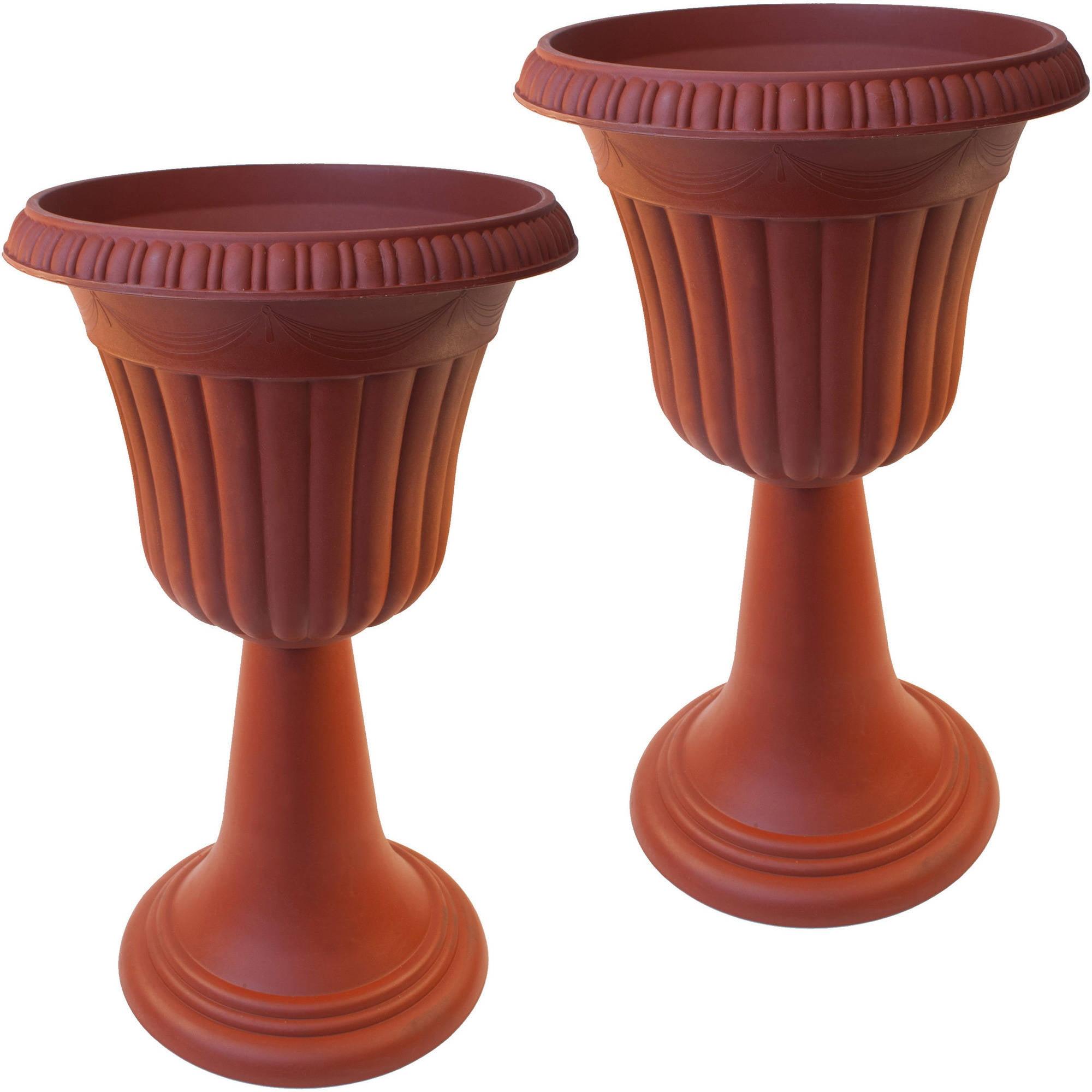 fiberglass planter resin roman p urn