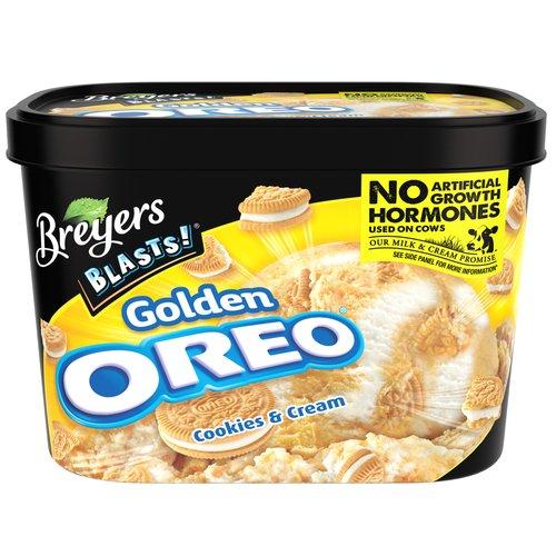 Breyers Blasts! Golden Oreo Ice Cream, 48 oz