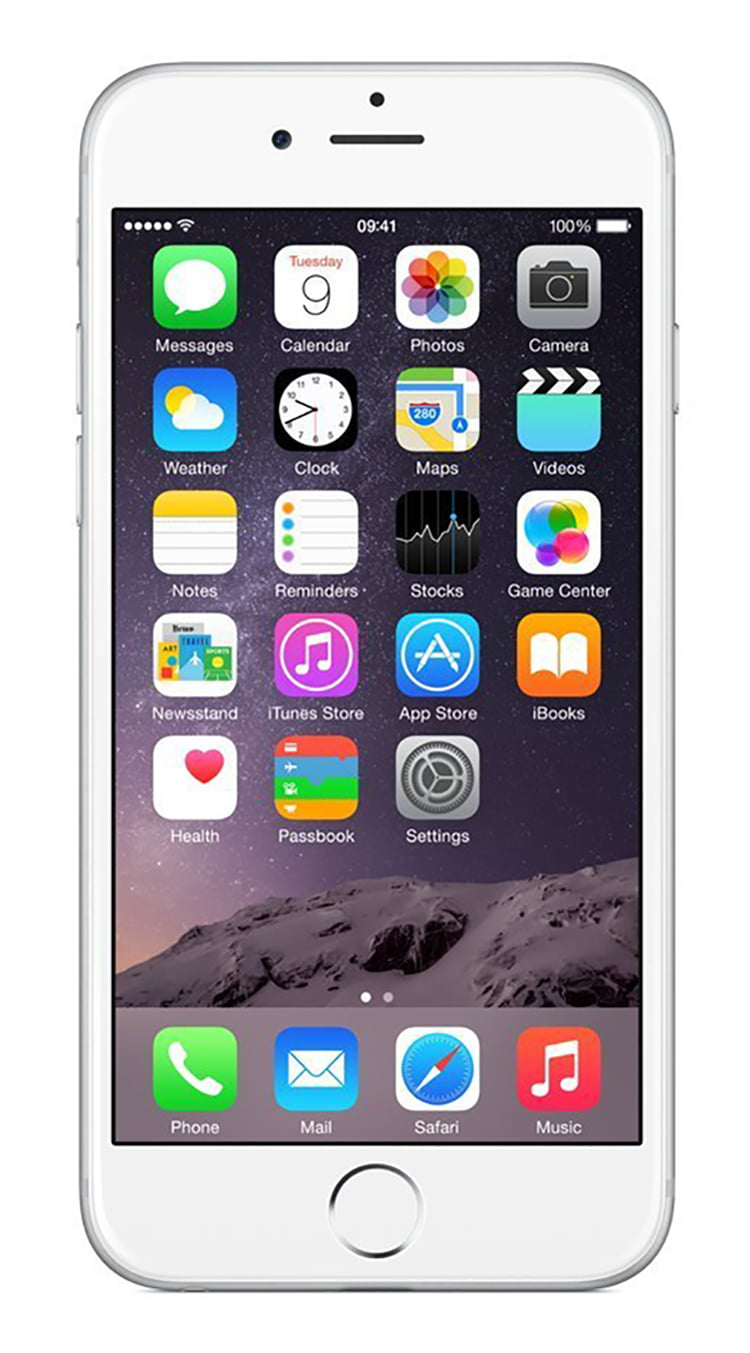 Telefono Celular Apple iPhone 6 16GB Unlocked GSM Phone w/ 8MP Camera - Silver (Certified Refurbished) + Apple en VeoyCompro.net