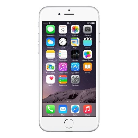Refurbished Apple iPhone 6 64GB, Silver - Unlocked