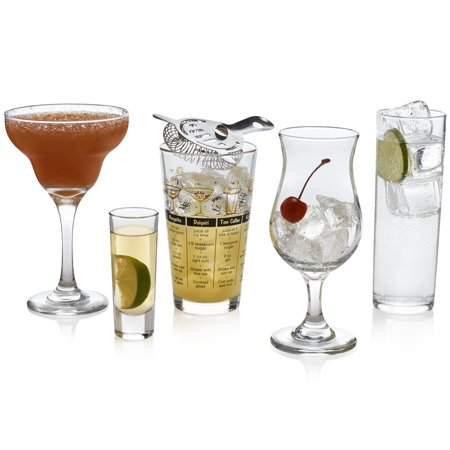 Libbey Mixologist 18-Piece Bar in a Box Cocktail Set](Bar Ware)
