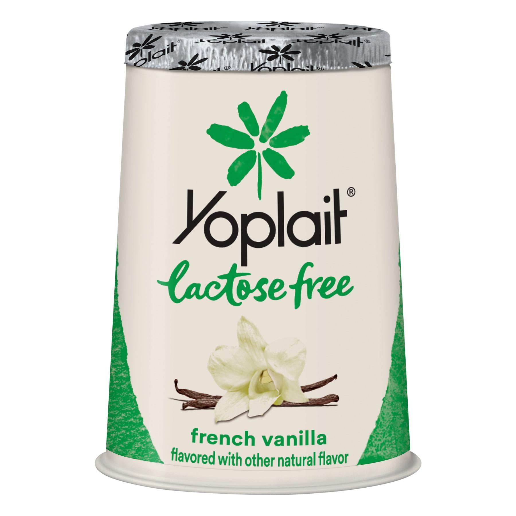 Yoplait Lactose Free Yogurt French Vanilla, 6 oz Cup