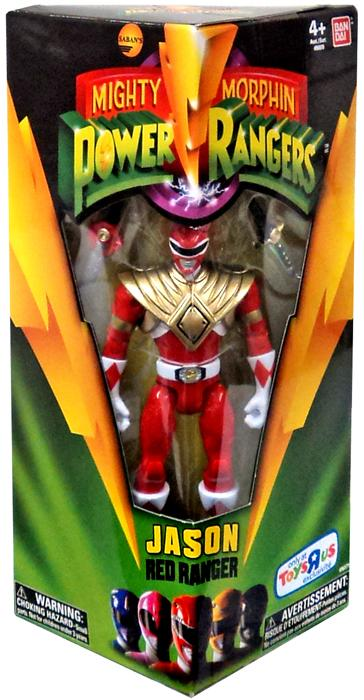 Mighty Morphin Power Rangers Jason Red Ranger Action Figure by Bandai
