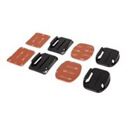 Urban Factory Flat & Curved - Support system - adhesive mount - for GoPro HD HERO; HD HERO2; HERO3; HERO3+