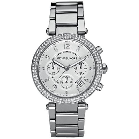 - Women's Chronograph Parker Stainless Steel Bracelet Watch MK5353