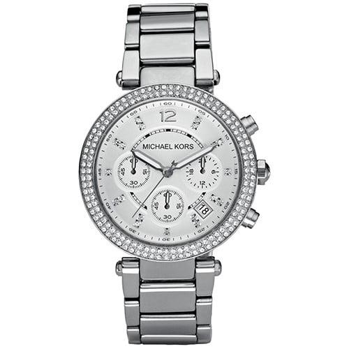 Michael Kors Women's Chronograph Parker Stainless Steel Bracelet Watch MK5353