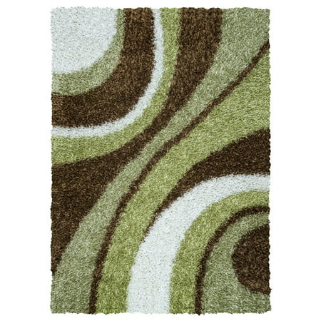 KNMKM232400300810 8' x 10' 100% Polyester in Green Color  Rectangle