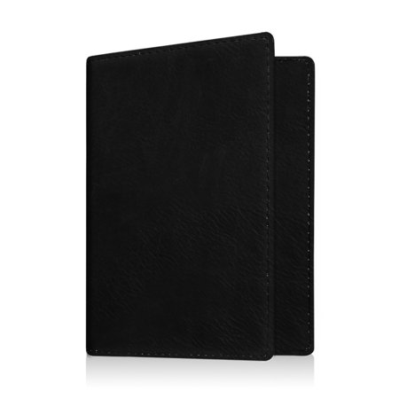 Fintie Passport Holder Travel Wallet RFID Blocking Case Cover - Securely Holds Passport, Boarding Passes, Vintage Black