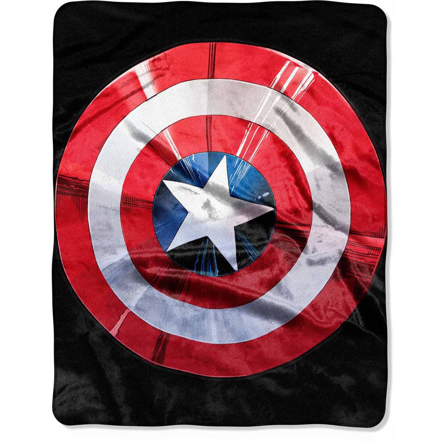 "Marvel Avengers ""Shield Agent"" 40"" x 50"" Silk Touch Throw"