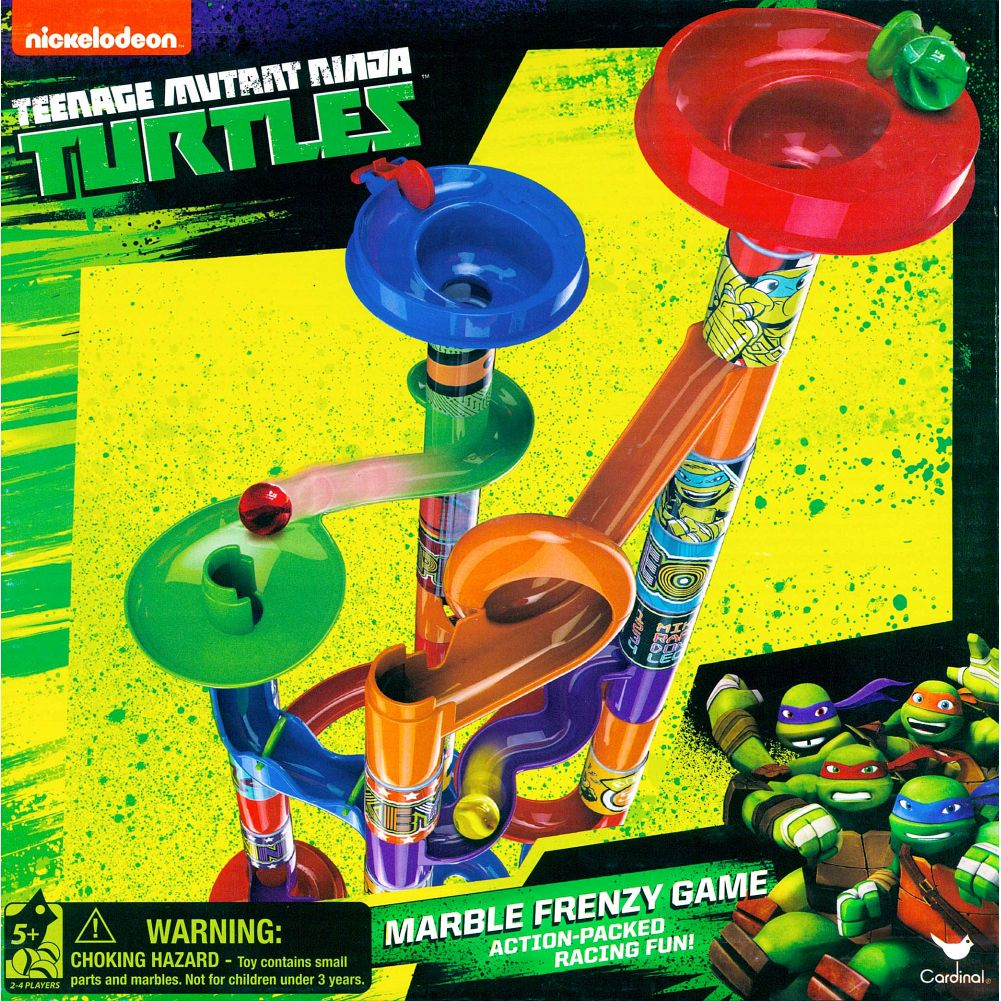 Teenage Mutant Ninja Turtles Pipeline Marble Racer Game