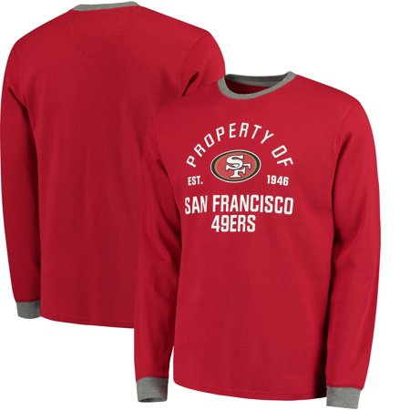 Pro Team Color (San Francisco 49ers NFL Pro Line Team Essentials Team Property Of Clean Color Thermal T-Shirt -)