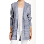 Wild Pearl NEW Blue Women's Size XS Open Front Sheer Cardigan Sweater $39