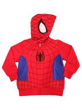 Marvel Toddler Boys' Spiderman Costume Hoodie