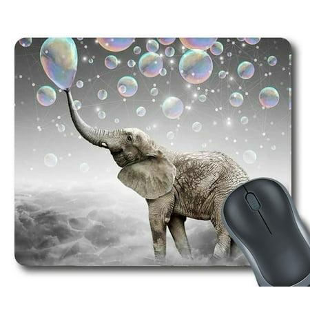 Gckg Elephant Mouse Pad Personalized Unique Rectangle Gaming Mousepad 9 84 L X 7 87 W