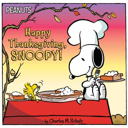 Happy Thanksgiving, Snoopy! (Paperback) - Peanuts Thanksgiving