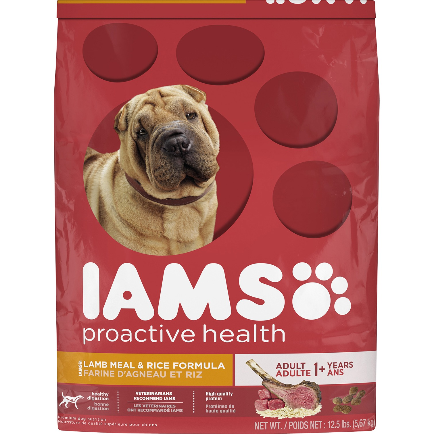 IAMS ProActive Health Adult Lamb Meal & Rice