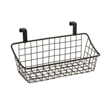 Spectrum Diversified Grid Storage Basket Over The Cabinet Door