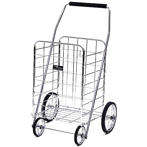Quest Products Inc Jumbo Shopping Cart, Chrome