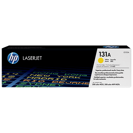 Hp Cc532a Yellow Toner - HP 131A (CF212A) Yellow Original LJ Toner Cartridge