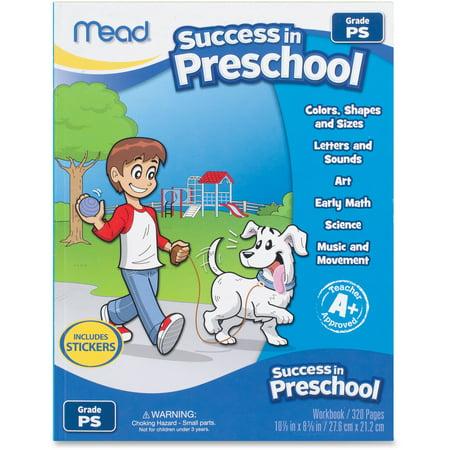 Mead Success in Preschool Workbook , 320 Pages (54263)