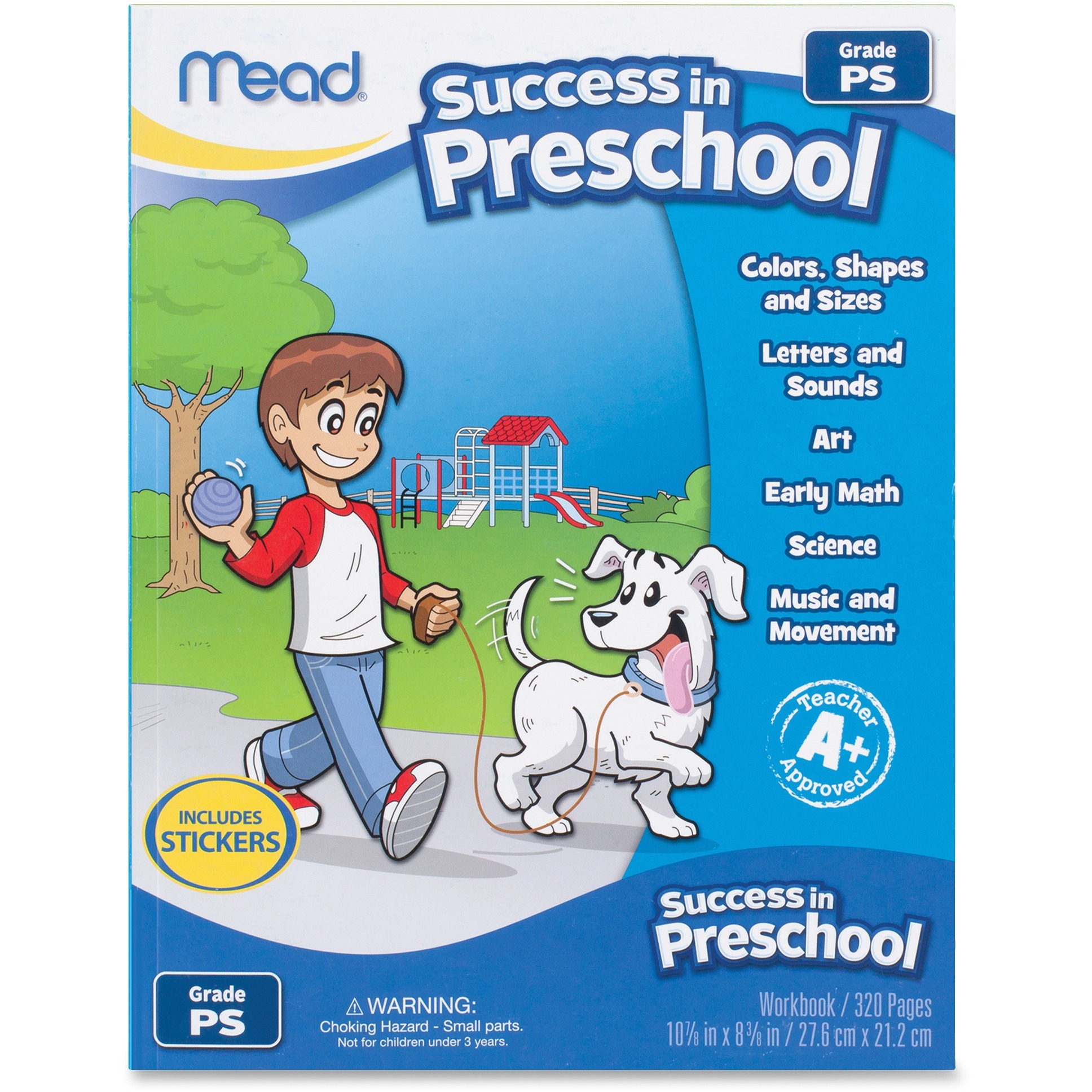 Mead Success in Preschool Workbook , 320 Pages (54263)