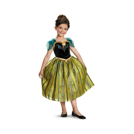 Frozen Anna Coronation Gown Toddler/ Girls Costume deluxe - Anna Frozen Costume