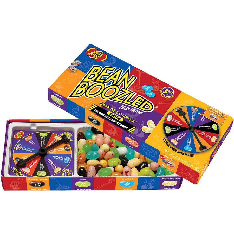 Jelly Belly BeanBoozled Jelly Beans Spinner Gift Set, 3.5 oz