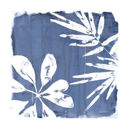 Jung Tropical Print - Tropical Indigo Impressions III Print Wall Art By June Vess
