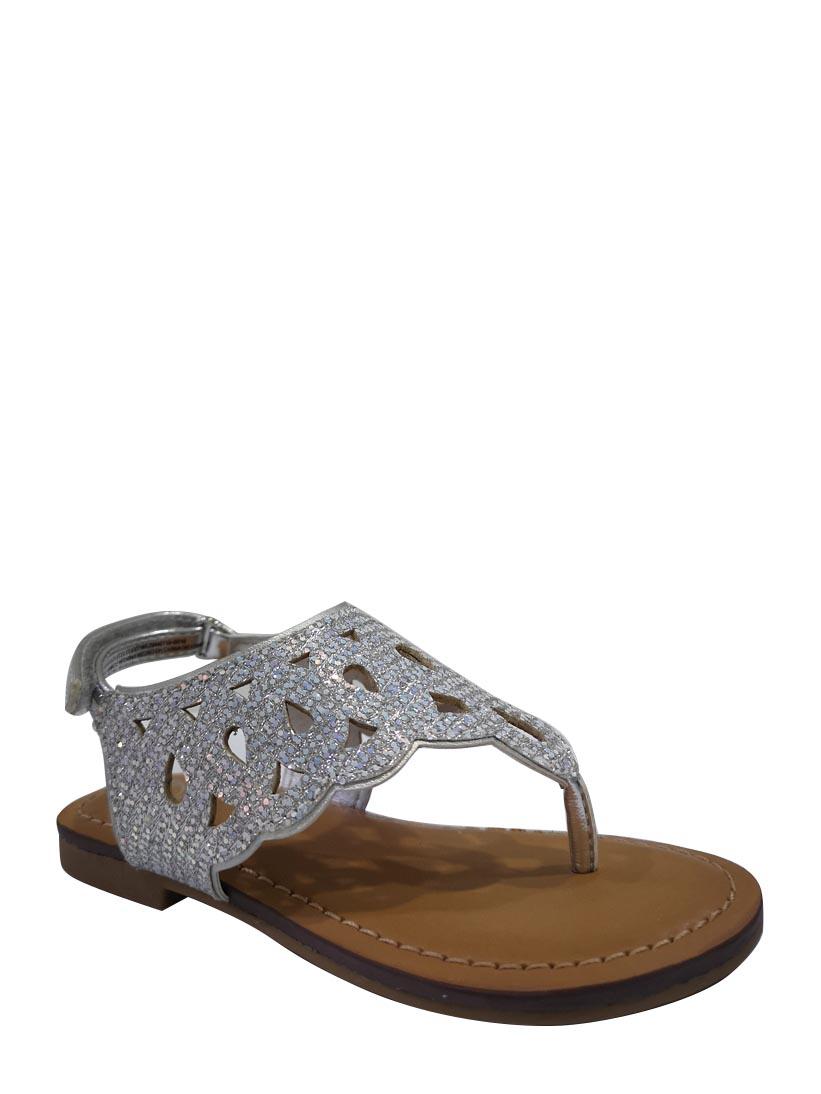 Girls' Wonder Nation Rhinestone Sandals