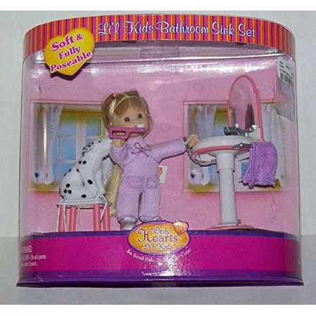 Only Hearts Horse & Pony Club - Lil Kids Bathroom Sink Set
