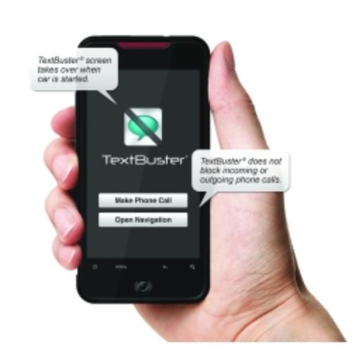 Textbuster Text Blocking And Tracking Device For Vehicles