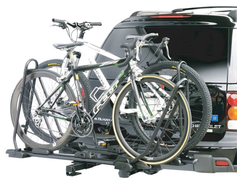 """INNO Tire Hold 2 Bike Platform Style Bike Carrier Fits 1.25"""" and 2"""" Trailer Hitches INH305 by INNO Roof Racks"""