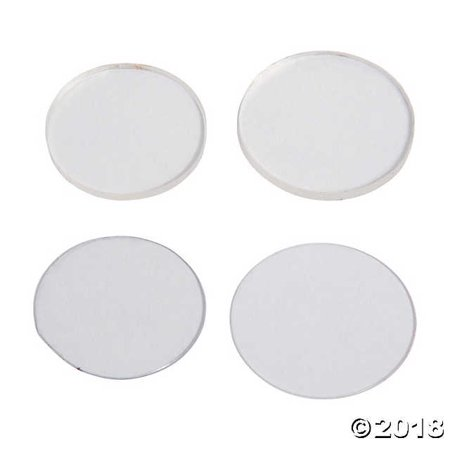 Clear Plastic Discs