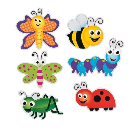 Fun Express - Bulletin Board Cutouts - Bugs - Educational - Classroom Decorations - Bulletin Board Decor - 48 Pieces](Decorating Classroom)