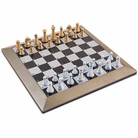 Sterling games plastic magnetic chess set with carrying case - Chess board display case ...
