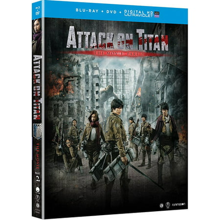 Attack On Titan The Movie  Part 2  Blu Ray   Dvd