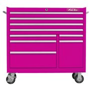 The Original Pink Box 41''W 9-Drawer Tool Chest